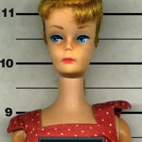 Barbie Mug Shot