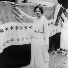 Alice Paul, American feminist, 1920 (Getty images)