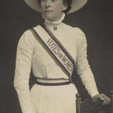 Suffragette, 1908 Museum of London