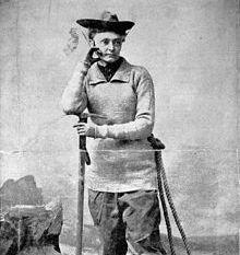 Annie Smith Peck, Mountain Climber, 1911