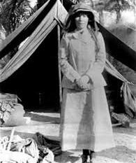 Explorer Gertrude Bell - Iraq, 1909